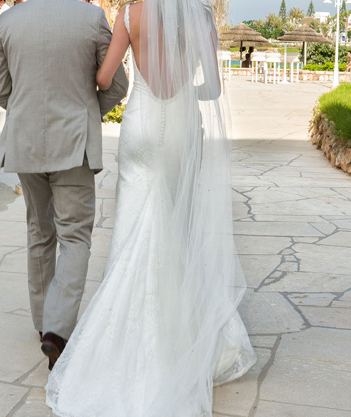 Capo Bay Hotel Wedding Protaras Cyprus Wedding Reception